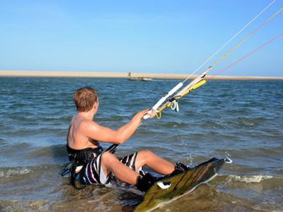 kitesurfing brazil, barra nova